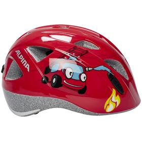 Alpina Ximo Cykelhjälm Barn röd